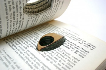 Jeremy Gives New Life To Old Book Pages Turning Them Into Delicate Jewelry--4
