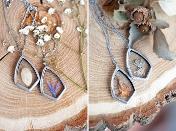 This Beautiful Jewelry Carefully Preserves The Beauty Of Nature--1