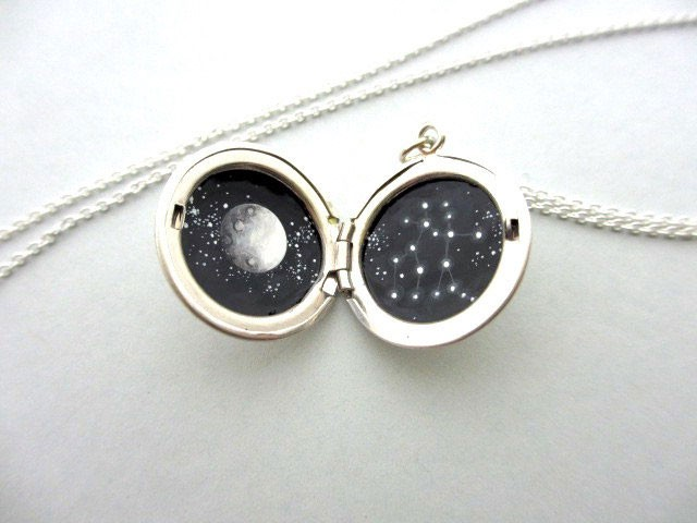 This Amazing Jewlry Contains Meticulous Cosmos Paintings Of Our Beautiful Universe-
