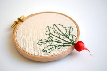 Artist Creates Amazing Embroideries Shaped As Vegetables--2