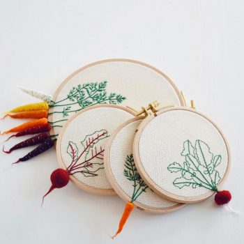 Artist Creates Amazing Embroideries Shaped As Vegetables--3