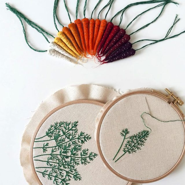 Artist Creates Amazing Embroideries Shaped As Vegetables--6