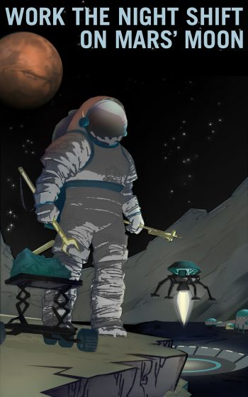 NASA Recruitment Posters Will Inspire You To Conquer Mars--2