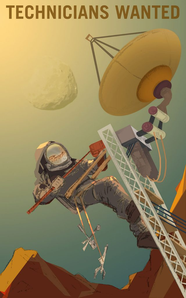 NASA Recruitment Posters Will Inspire You To Conquer Mars--6