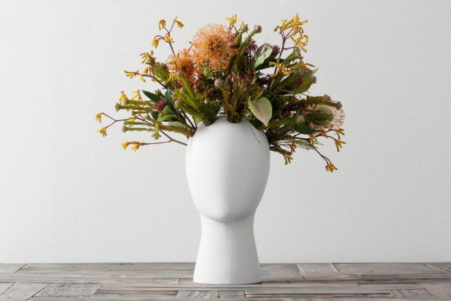 These Head-Shaped Vases Transform Your Floral Arrangements Into Majestic Wigs--4
