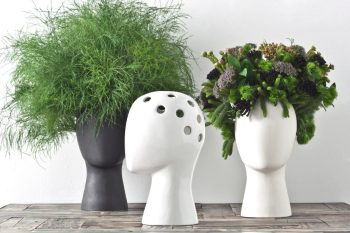 These Head-Shaped Vases Transform Your Floral Arrangements Into Majestic Wigs--5