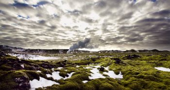 Iceland unveils its haunting landscapes--11