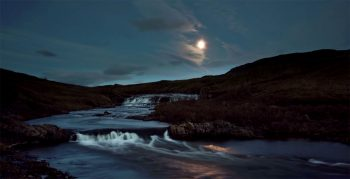 Iceland unveils its haunting landscapes--20