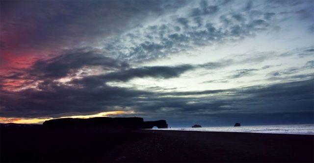 Iceland unveils its haunting landscapes--4