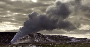 Iceland unveils its haunting landscapes--9