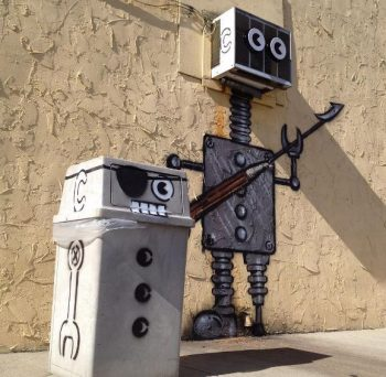 Tom Bob's amusing creations That Perfectly Fits In Urban Landscape--13