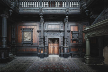A Romanian Castle With Beautifil wood work