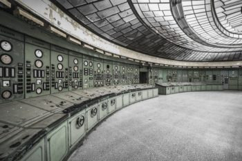 An Abandoned Deco Power Plant In Hungry