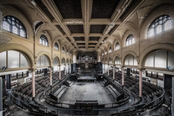An Abandoned Nightclub In England