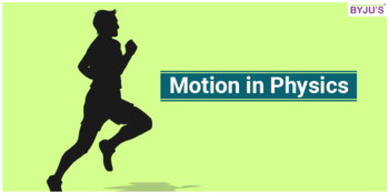 Motion in Physics