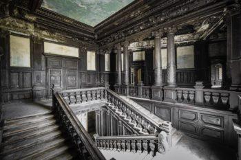 Polish Palace With Amazing Woodwork