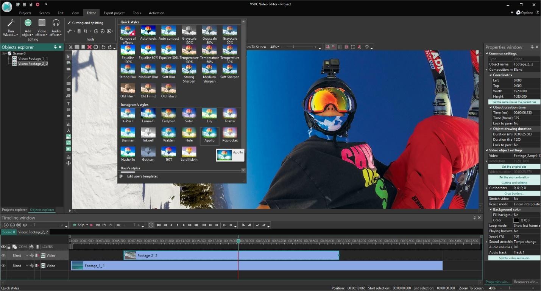 VSDC Editor1