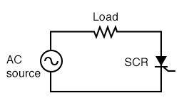 SCR control of AC power