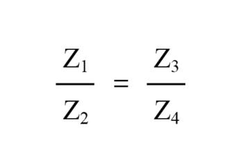 ac bridge impedance ratios