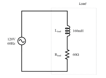 ac circuit with both reactance and resistance