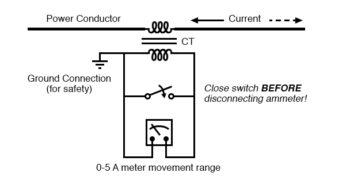 active current transformer circuit