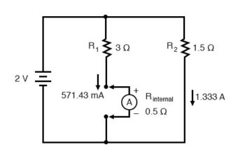 affect the measured branch current