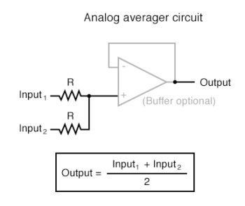 analog averager circuit
