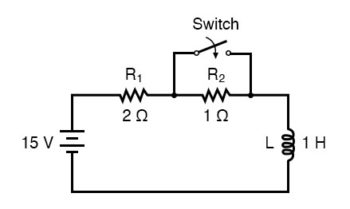 analyze dc reactive circuit