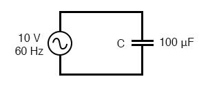 angular velocity of ac circuit