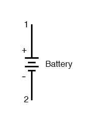 batter voltage example