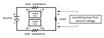 calculate voltage drops