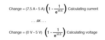 calculating current and voltage