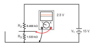 capacitor appears to be open circuit