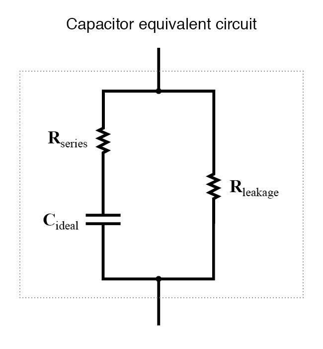 capacitor equivalent circuit