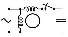 Capacitor-start induction motor