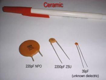 ceramic type capacitor