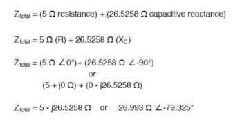 circuit impedance equation1