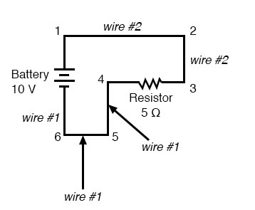 circuits connecting wires