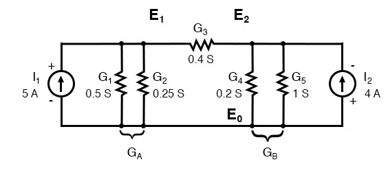 combined parallel conductances