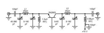 common base rf amplifier