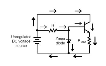 common collector application voltage regulator