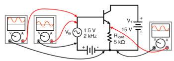 common collector non inverting voltage gain