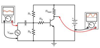 common emitter amplifier no feedback