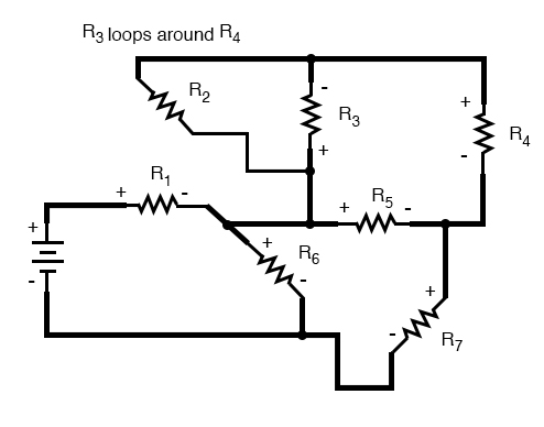complex circuit diagram