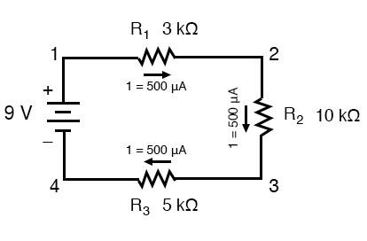 component voltages calculation