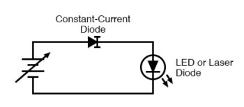 constant current diode application