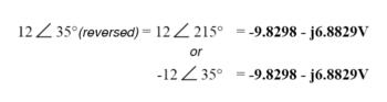 conversion to rectangular form