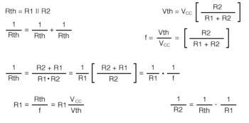 convertion of emitter bias to voltage divider bias