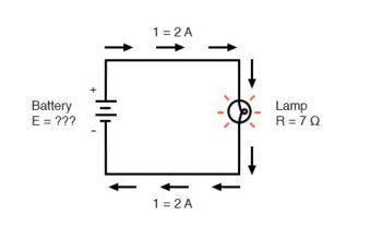 current flow voltage battery