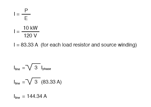 current phase circuit equation